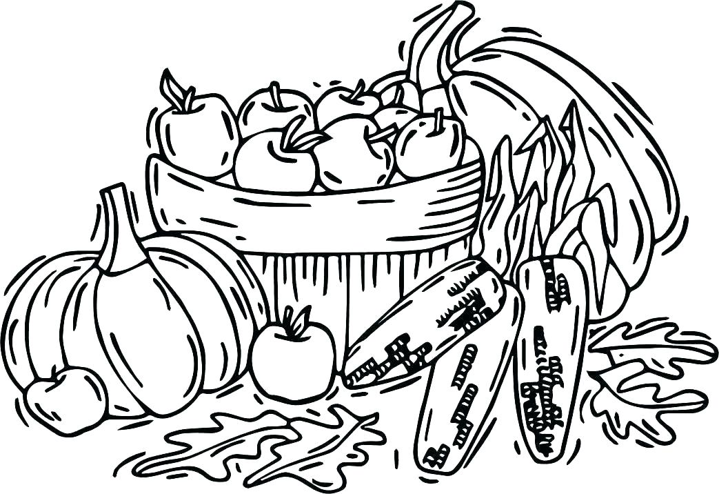 1043x716 vegetable coloring coloring pages of fruits vegetable coloring