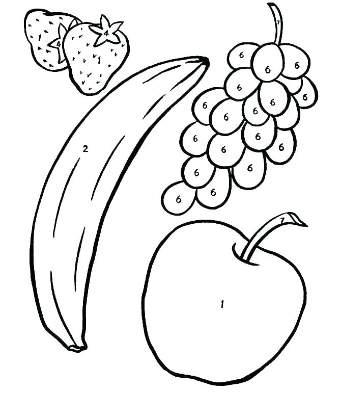 Fruits Drawing Images | Free download best Fruits Drawing