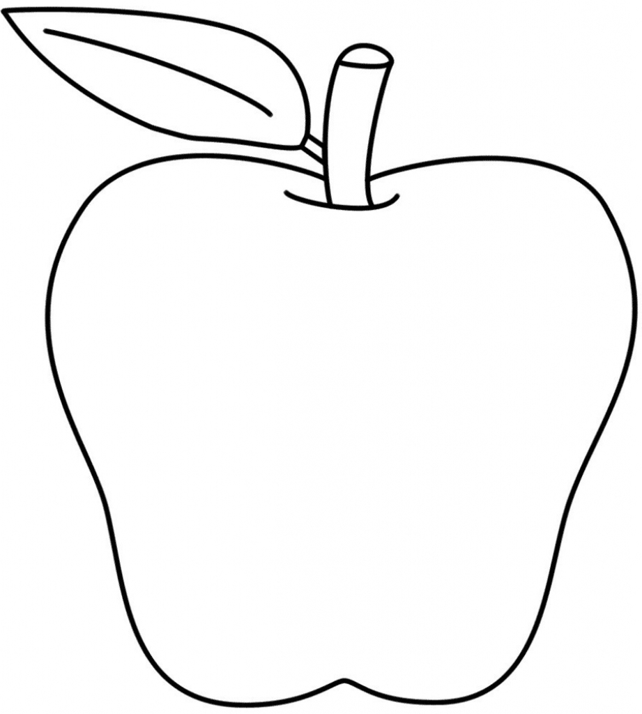 921x1024 Apple Fruit Drawing Drawn Apple Apple Fruit Pencil And In Color
