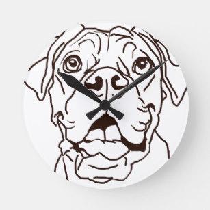 307x307 Boxer Dog Drawing Art Wall