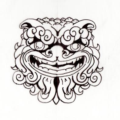 396x398 Foo Dog Tattoo Animated Gifs Photobucket