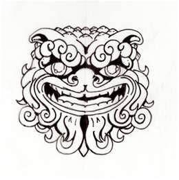 260x262 Importer Blog Foo Dog Tattoo Dark Beauty