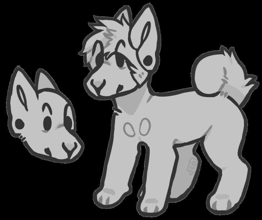 900x756 Doggo Drawing Drawn For Free Download