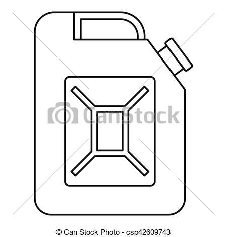 450x470 Gasoline Tank Drawing