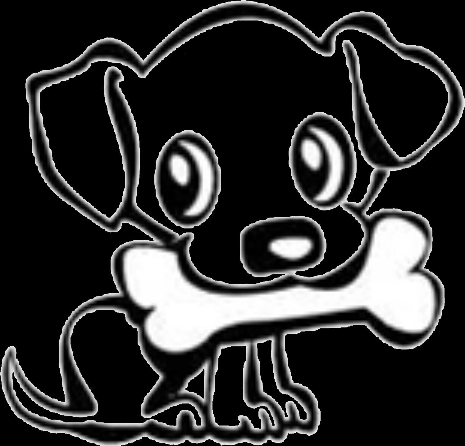 1497x1437 Dog Bone Drawings Group Banner Download