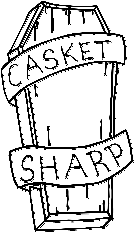 3578x6201 Download Casket Drawing At Getdrawings