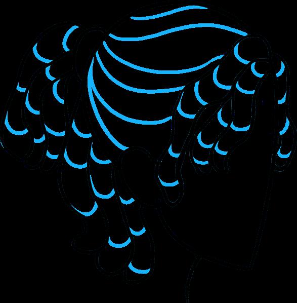 587x598 Download How To Draw Dreadlocks