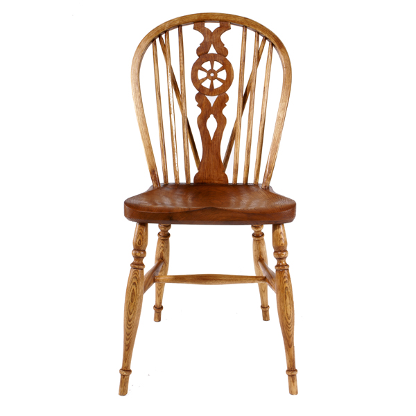 600x600 Wheelback Side Chair