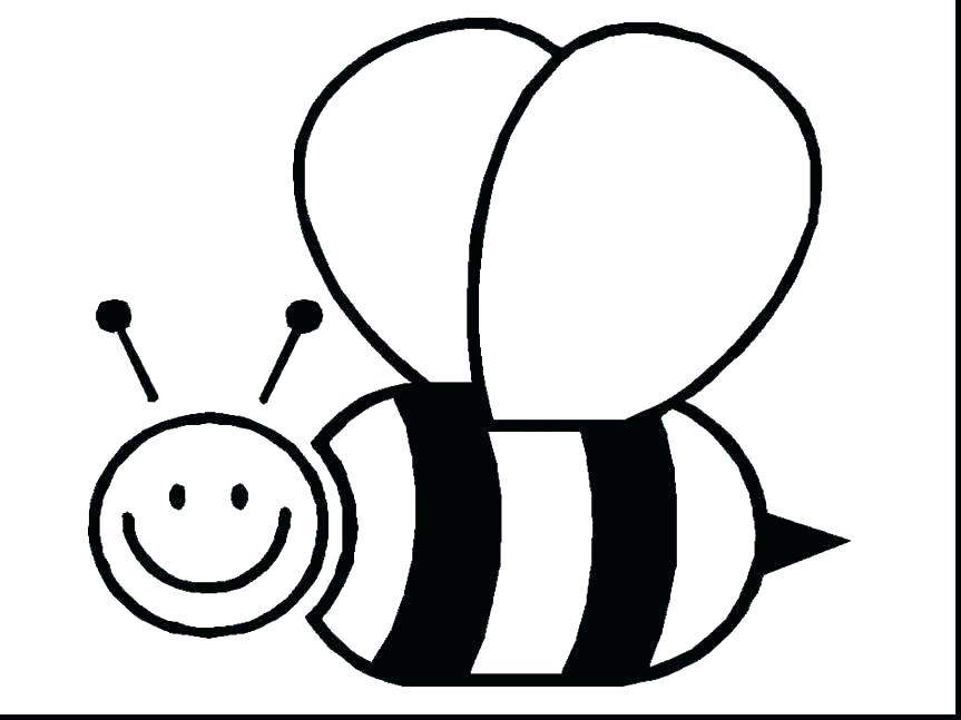 863x647 Drawings Of Bumble Bees