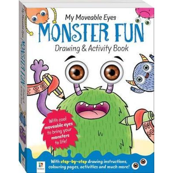600x600 My Moveable Eyes Monster Fun Drawing Activity, My Moveable Eyes