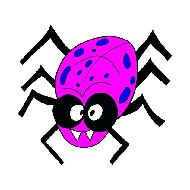 630x630 spider drawing for kids funnel web spider coloring pages spider