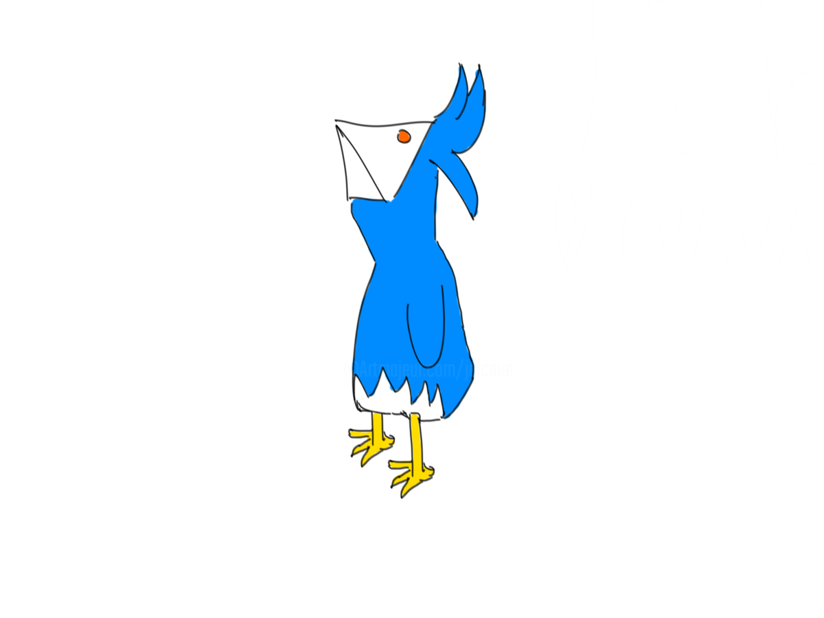 1200x900 Pouic The Funny Bird Drawing