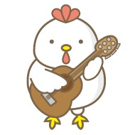 190x190 Funny Chicken Guitar Treble Clef Instrument Iphone Case