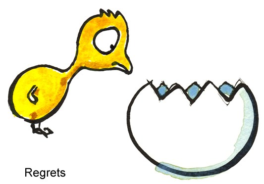 533x372 Regrets Funny Illustration From Frits Illustrations About Life