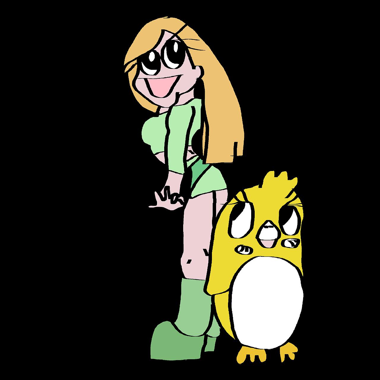 1280x1280 Cartoon Character, Comic, Cartoon, Drawing, Figure