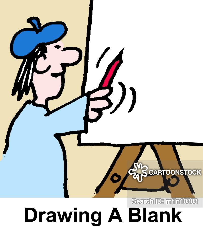 800x960 Drawing A Blank Cartoons And Comics