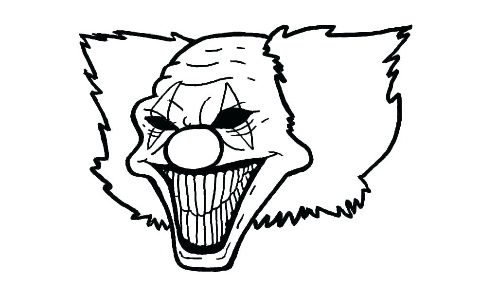 1024x604 Drawings Of Clowns Funny Clowns Balloons And Circus Animals