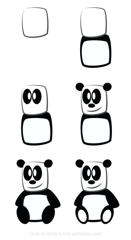 500x911 Easy Panda To Draw Image Titled Draw Emo Panda Step Cute Easy
