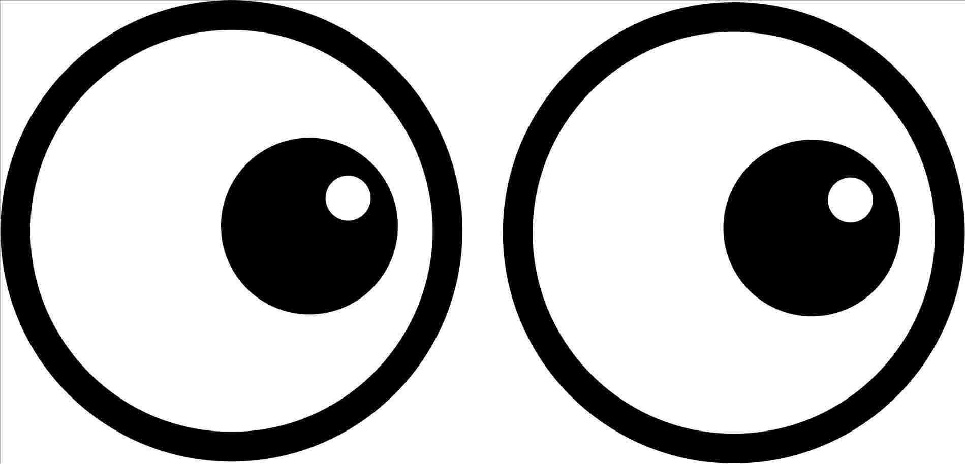 1899x914 Rhcom Funny Animated Eyeball Drawing Cartoon Eyes Clipart