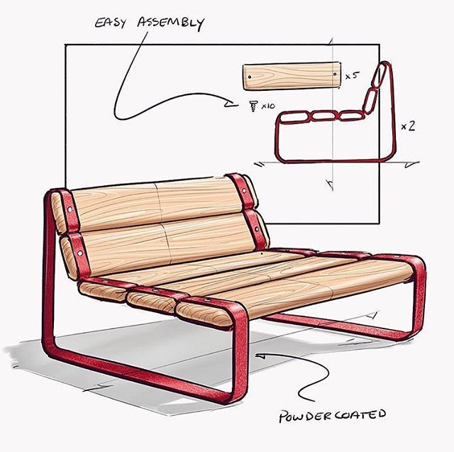 640x637 furniture sketches furniture design