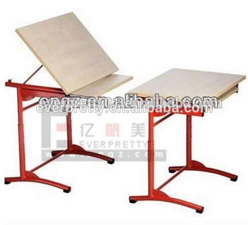 494x447 folding kids lab furniture drawing table,lab trainee drawing table