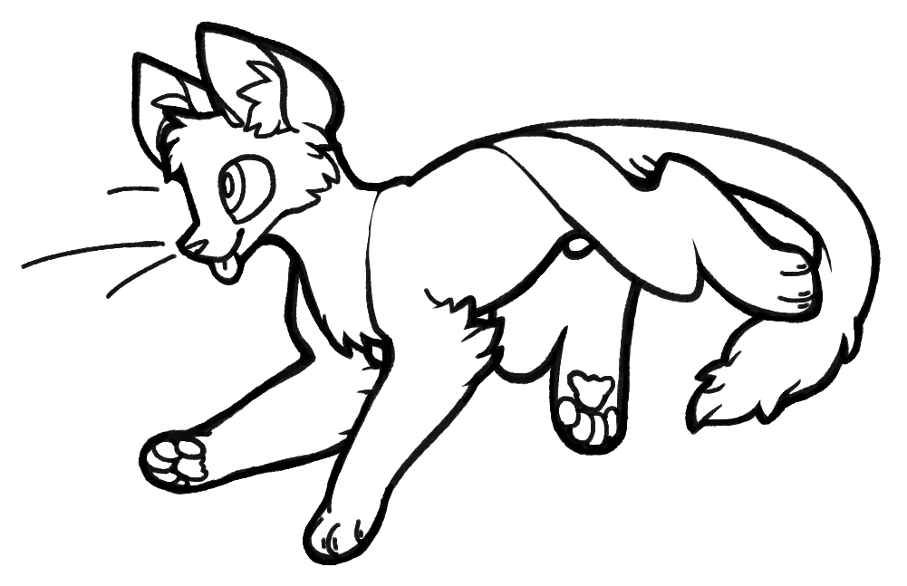 Fursuit Drawing Base