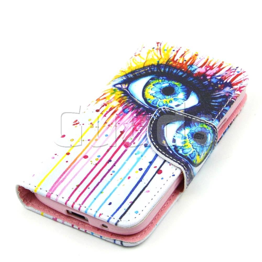 1000x1000 for case eye painting leather wallet case for samsung galaxy