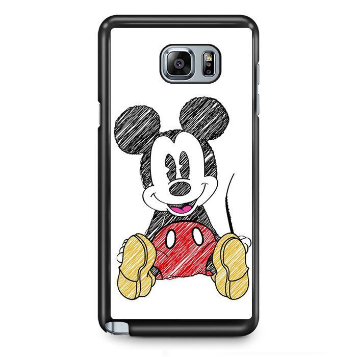 700x700 Mickey Mouse Pencil Drawing Tatum Samsung Phonecase Cover