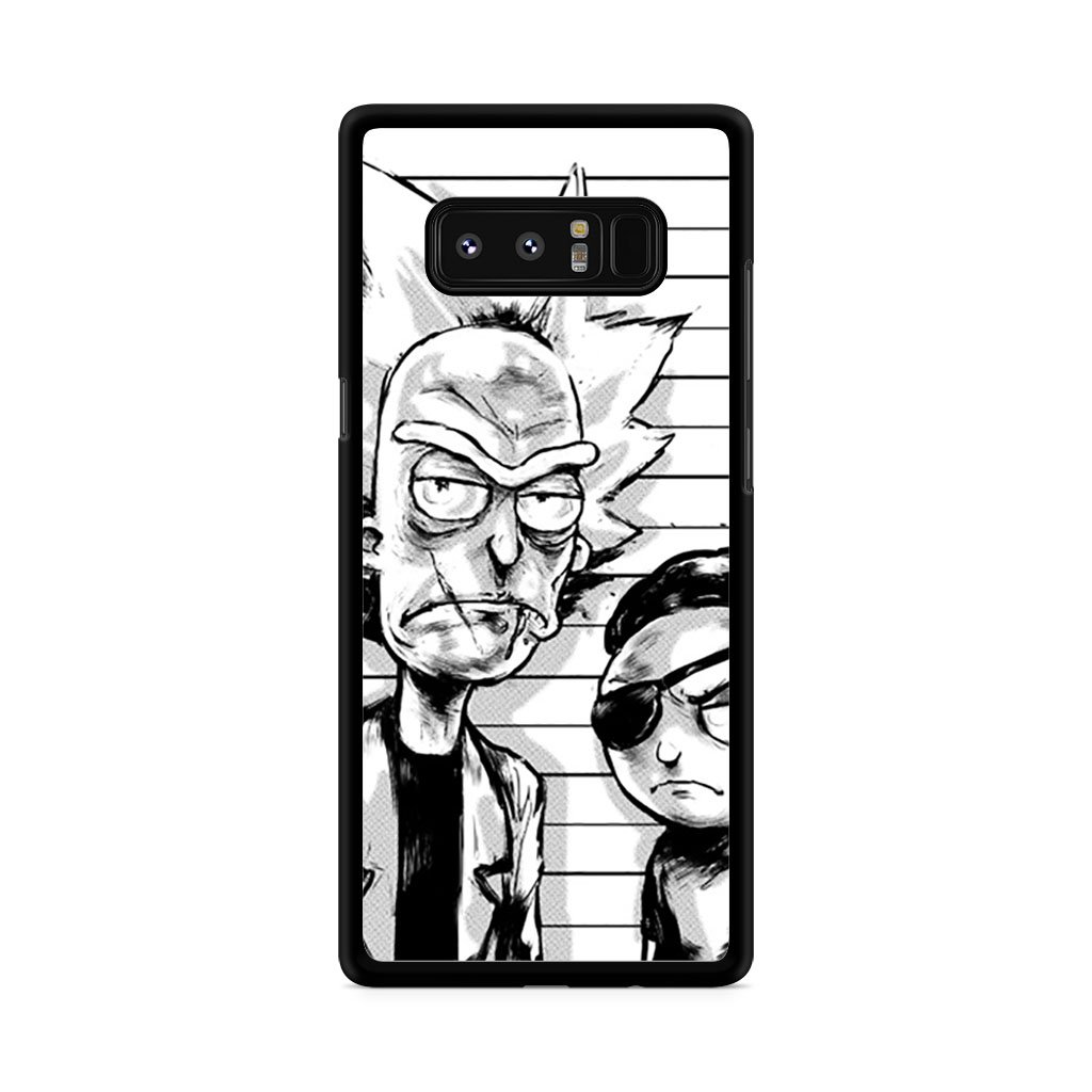1024x1024 Rick And Morty Pirates Drawing Samsung Galaxy Note Case Cover Mojo