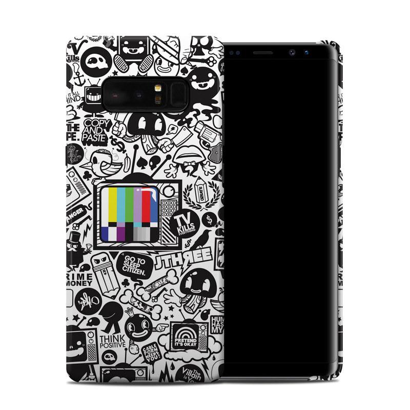 800x800 Tv Kills Everything Samsung Galaxy Note Clip Case Istyles