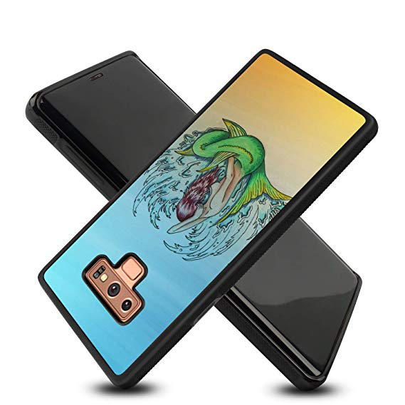 569x569 Spegen Mermaid Drawing Samsung Galaxy Note Case Soft