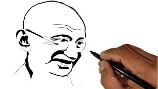 320x180 How To Draw Gandhiji Free Download Video
