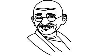 320x180 Gandhi Jayanti Drawing Easy