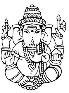 Ganesh Drawing Images