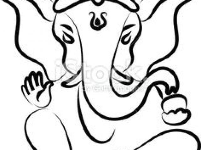 640x480 Drawing Easy Ganpati Best Ganesh Images Lord Ganesha Lord