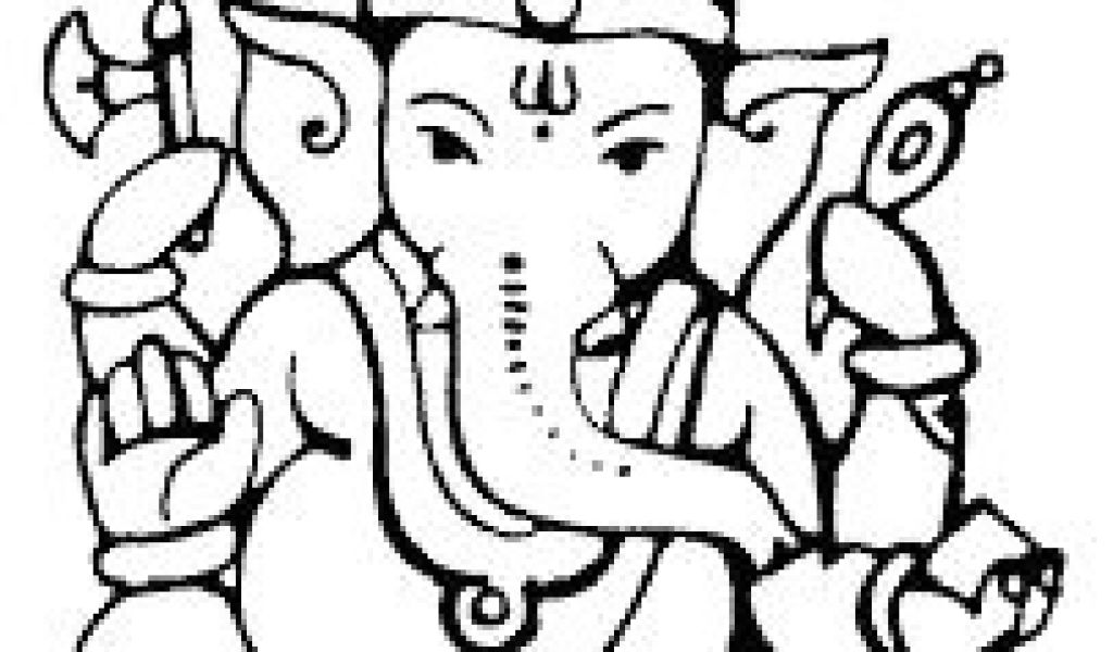 1024x600 Easy Drawings Ganesh Best Ganpati Images Indian Contemporary