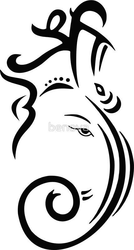 429x800 How To Draw Ganesha Easy