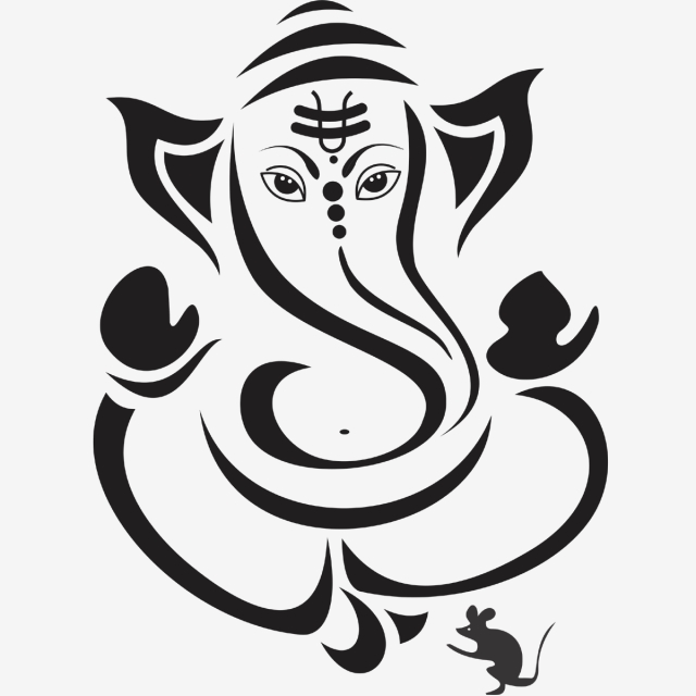 Ganesh Line Drawing Free Download Best Ganesh Line Drawing