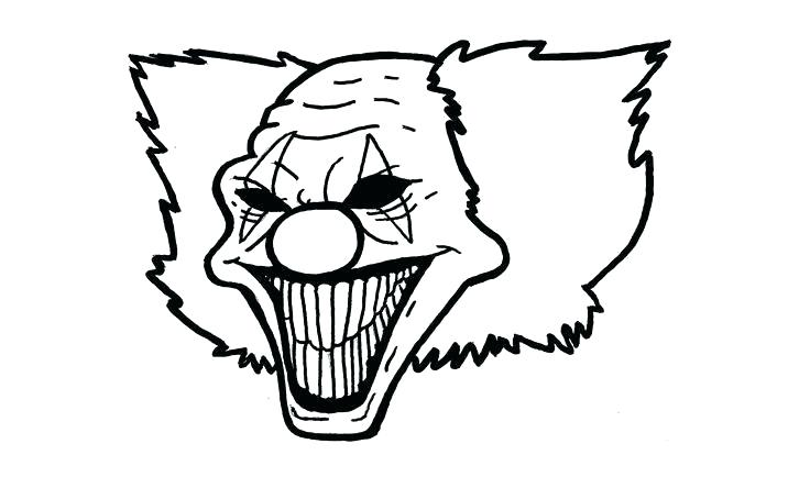 736x434 Gangster Clowns Drawings Collection Of High Quality Free Gangsta