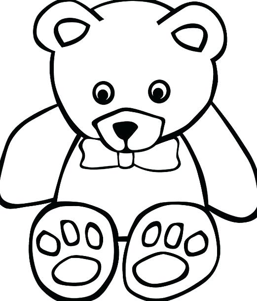 521x609 Free Panda Bear Outline Download Clip Art On Pooh Cake Library