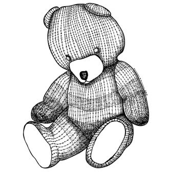 336x336 Teddy Bear Pencil Bearberry Drawing Step