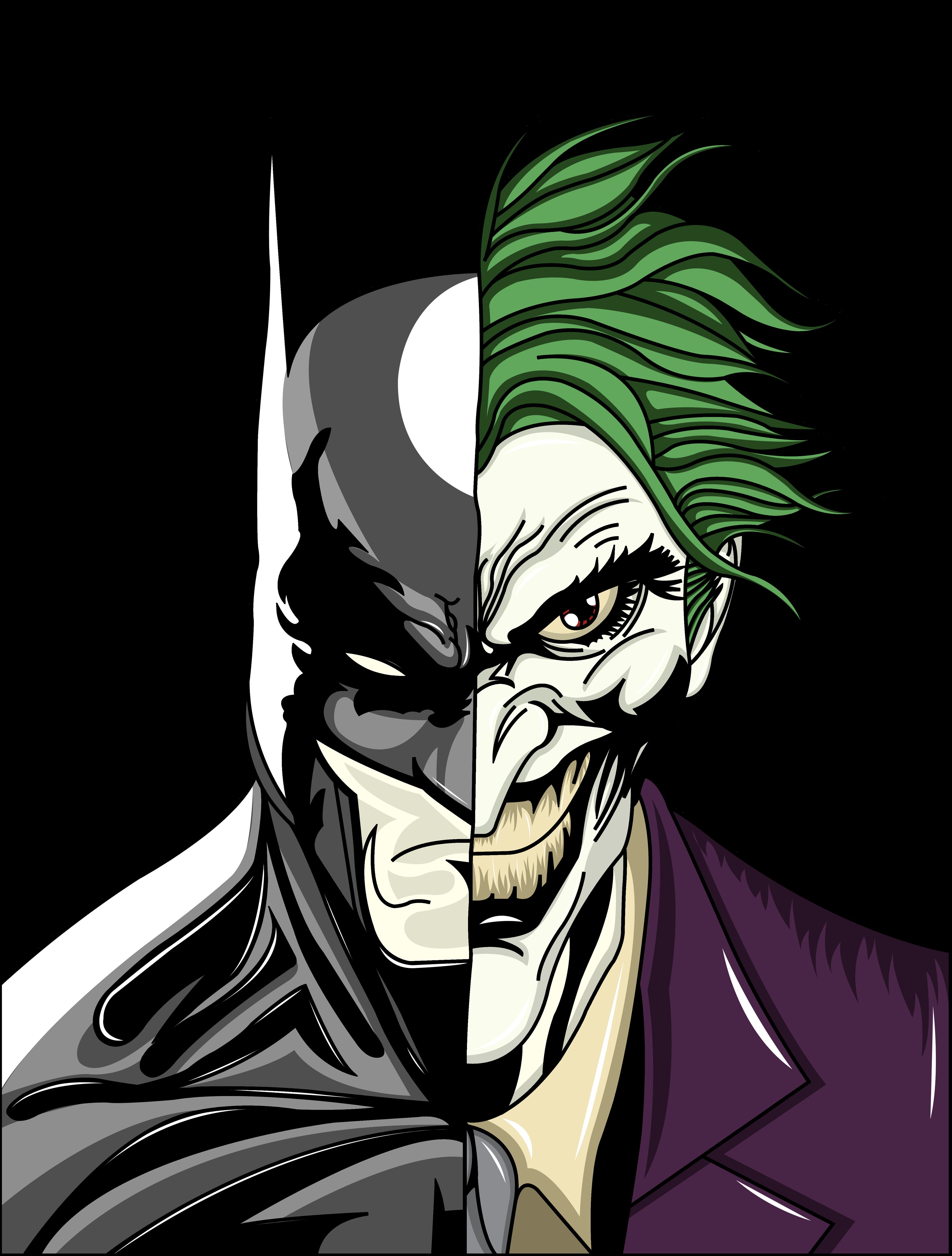 Gangster Clown Drawings