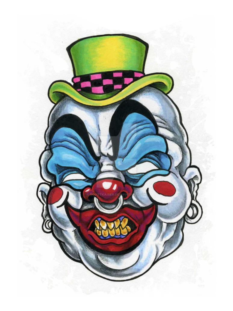 Gangster Clown Drawings Free Download On Clipartmag