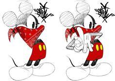 Gangster Love Drawings