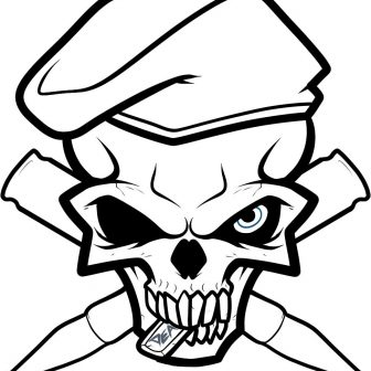 336x336 Badass Butterfly Drawings Of Roses Gangster Skulls Ideas Anime