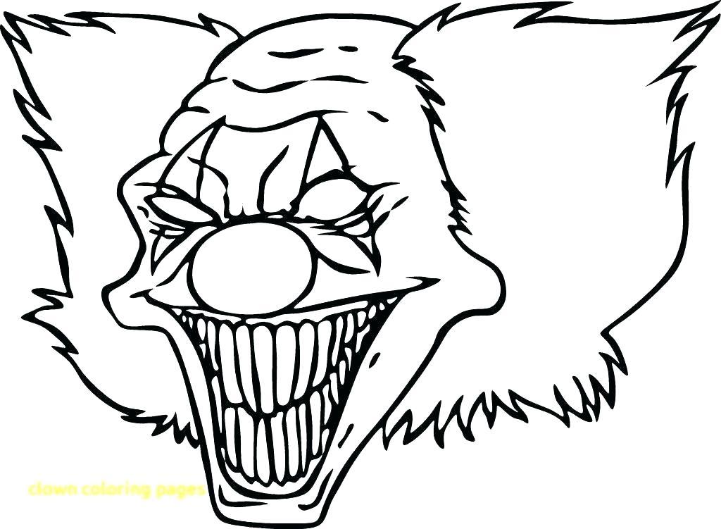 1024x751 Clowns Drawing The Triumph Of Evil Clowns Drawing