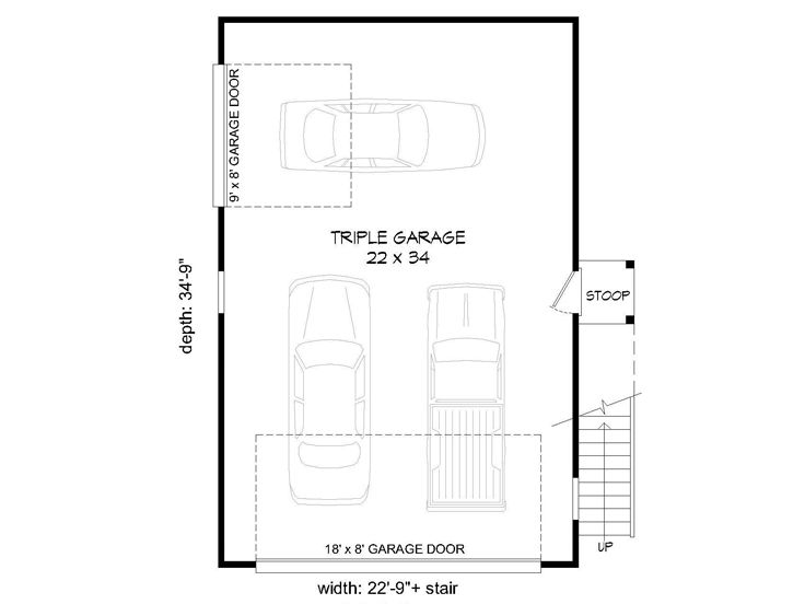 736x552 unique garage plans unique car garage plan with loft