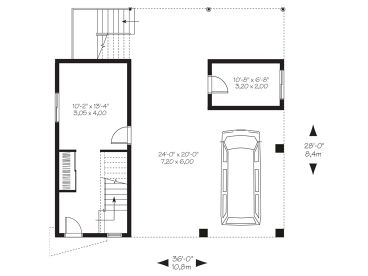 368x276 unique garage plans unique garage apartment plan with drive