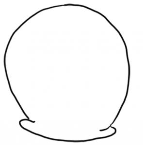 295x300 How To Draw Gary From Spongebob