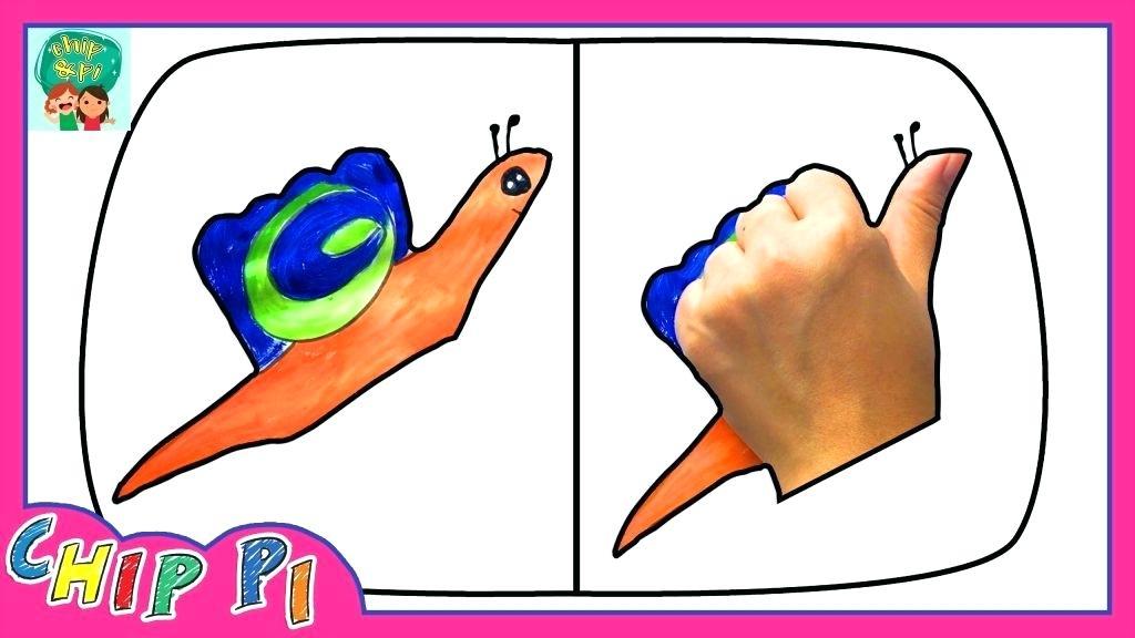1024x576 Draw Snail How To Draw A Snail For Snail Mail How Draw Snail